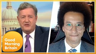 Piers Clashes With Political Commentator Over Diversity's BGT Performance | Good Morning Britain