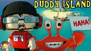 FGTEEV DUDDY ISLAND - 3d Animation (This is what was happening DURING the Raptain Hook Music Video)