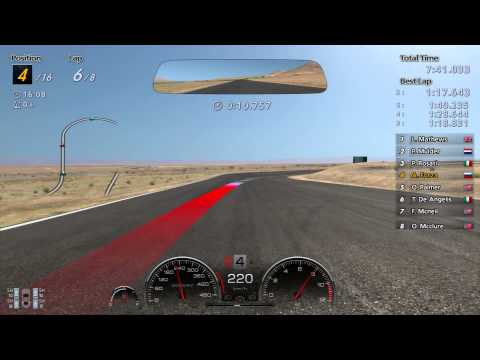 Gran Turismo 6 Super Willow Springs 20 Mile Challenge