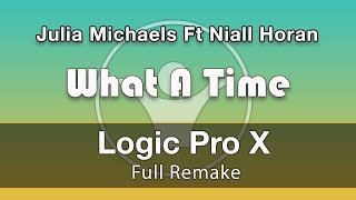 What A Time JuliaMichaels Ft NiallHoran - Logic X Remake Template