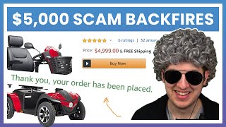 Scammers Expected $5,000 But Grandma Buys A Scooter