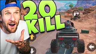 20 KILL GAME in CALL OF DUTY MOBILE BATTLE ROYALE