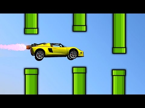GTA FLAPPY BIRDS EDITION! (GTA 5 Funny Moments)