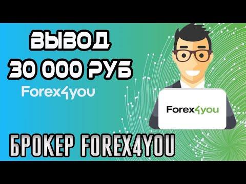 Вывод денег 30 000 рублей с Форекс брокера Forex4you - WSB Робот
