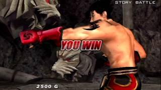 Tekken: Dark Resurrection (PSP) Story Battle as Jin