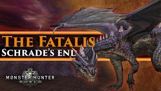 Monster Hunter World Lore - The Great Dragon war, The Fatalis & the destruction of Schrade!