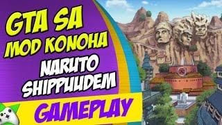 GTA SA: MOD KONOHA NARUTO SHIPPUDEN - MAPA GIGANTESCO!!