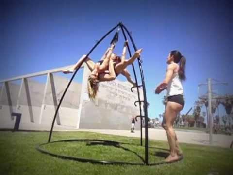 Omni Gym Global: Aerial Pole Dancers: Crystal Gibson, Shimmy & Maddy Schonstein