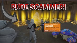 Rudest Scammer Gets Scammed For Inventory! In Fortnite Save The World Pve