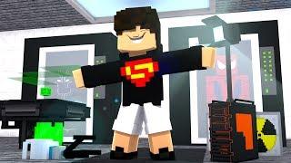 Minecraft: BASE SUPER SECRETA DE HERÓIS!! - VIDA DE HERÓI Ep.02  ‹ LUK3 ›