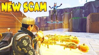 *NEW SCAM* Super Boost Jump 😱 Must Watch (Scammer Gets Scammed) Fortnite Save The World
