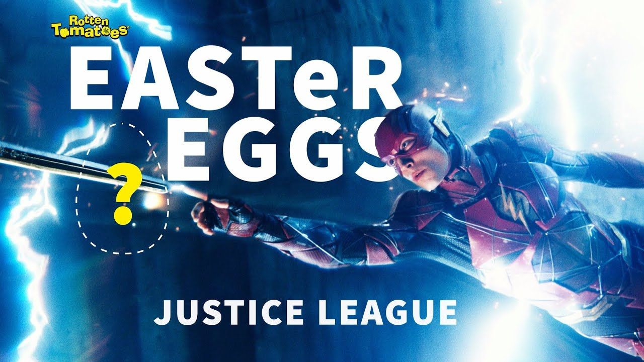 Justice league easter eggs fun facts rotten tomatoes for Easter egg fun facts
