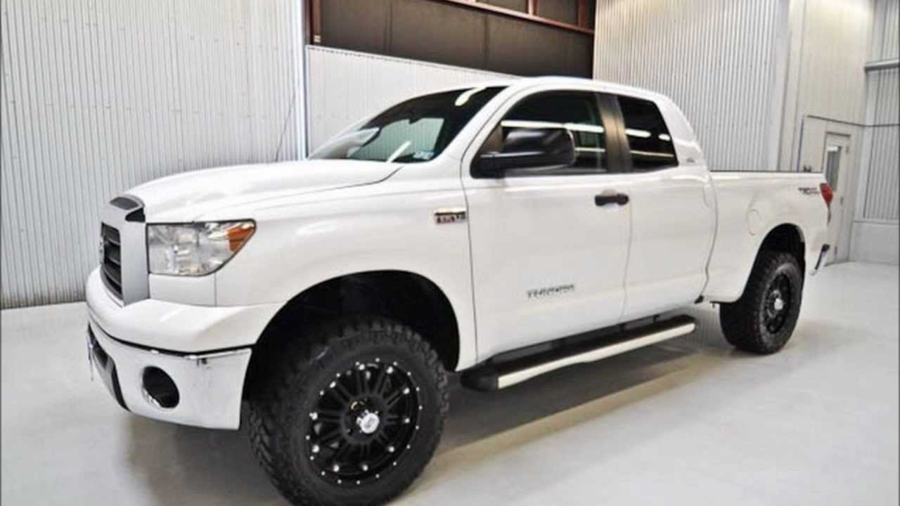 2008 toyota tundra double cab 4wd lifted truck for sale. Black Bedroom Furniture Sets. Home Design Ideas