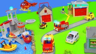 Fire Truck Toys : Fireman Sam Toy Vehicles for Kids