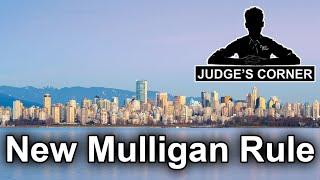 Video New Mulligan Rule - Judge's Corner #82 download MP3, 3GP, MP4, WEBM, AVI, FLV November 2017