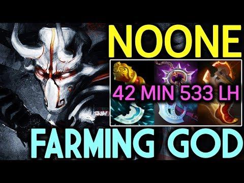 NOONE Dota 2 [Juggernaut] Farming God | 42 Min 533 LH