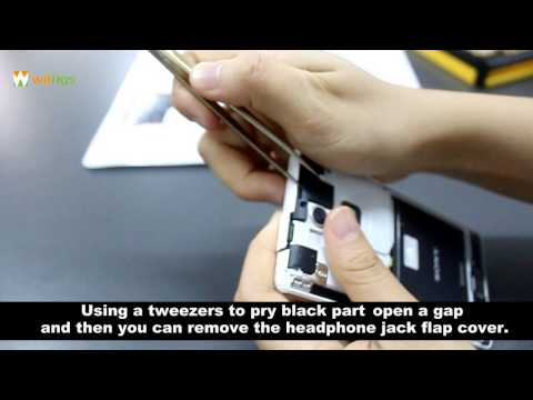How to Replace the Sony Xperia ZR Cover Flap