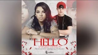 Video Xian x Joha - Hello (Video Lyric) Prod By Chalko & Daash download MP3, 3GP, MP4, WEBM, AVI, FLV Agustus 2017