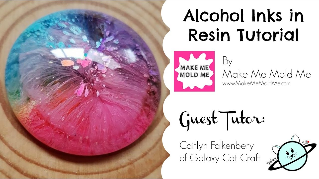Rainbow Resin And Alcohol Ink Tutorial Make Me Mold Me YouTube - Coloring resin with alcohol ink