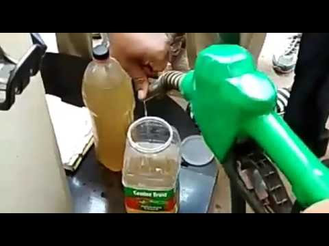 Petrol pump employees filling water instead of petrol in Gorakhpur