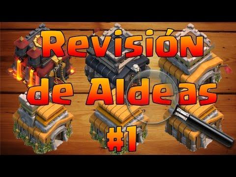 Revisión de Aldeas #1 - ANTRAX CLASH OF CLANS