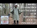 Highly Recommended Wet Weather Gear - 2GOSystems B.O.B. V2 Poncho Tarp