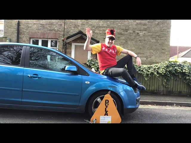 'I've been Clamped for Christmas.' A Tim Vine song.