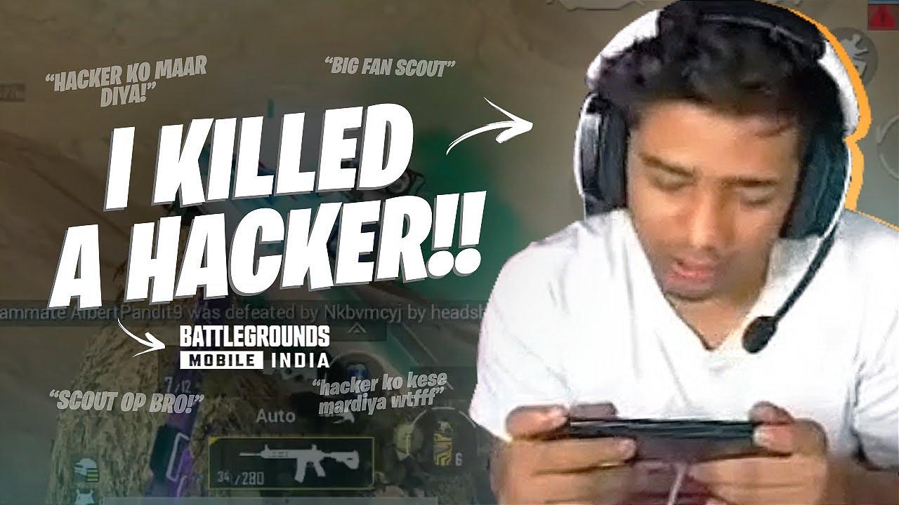 I KILLED A HACKER IN BGMI... | Rank Push Highlights | sc0ut