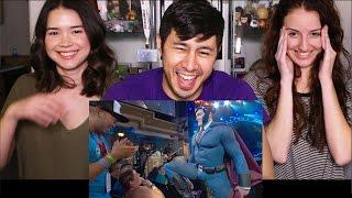 CONAN PATROLS COMIC CON IN SUPER HERO SUIT - Reaction!