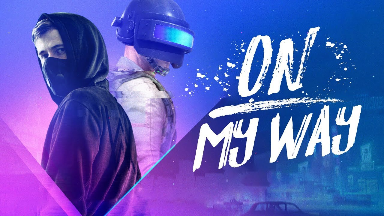 Alan Walker On My Way Lyrics Ft Sabrina Carpenter Farruko Pubg Edition