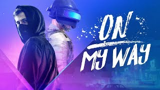 Gambar cover Alan Walker - On My Way (Lyrics) ft. Sabrina Carpenter & Farruko [PUBG edition]