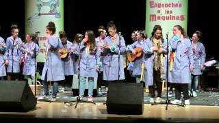 Carnaval 2015 Villanueva de Cordoba Enganchadas a las maquinas