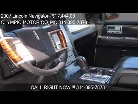2007 Lincoln Navigator Ultimate 4x4 1 Owner For Sale In