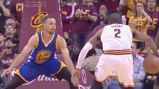 Kyrie lrving Schools Steph Curry's Defense - 2016 NBA Finals