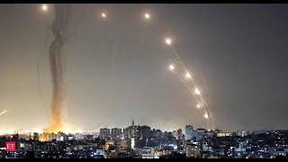 [이스라엘 속보] 1300여 발 포탄 떨어진 전쟁 같은…
