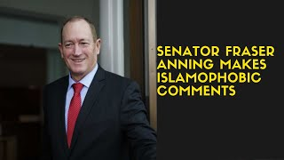 Senator Fraser Anning makes controversial remarks about New Zealand mosque shootings