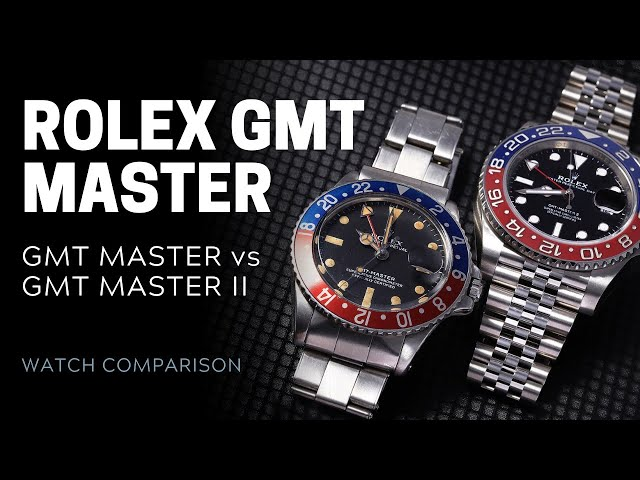 Rolex GMT Master vs GMT Master II: What's the Difference? | SwissWatchExpo [Rolex Watches]