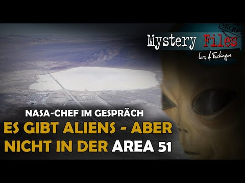 """NASA-Chef: Außerirdische existieren, wir finden sie! Aliens/ UFOs in Area 51 nicht: """"Ich war dort"""""""