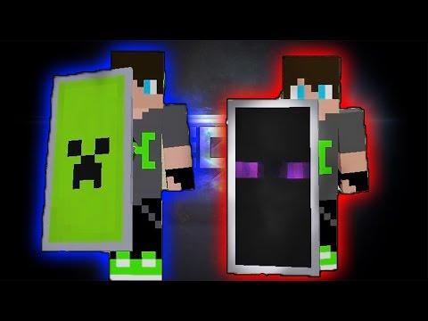 Minecraft Enderman Ve Creeper Kalkanı Nasıl Yapılır?
