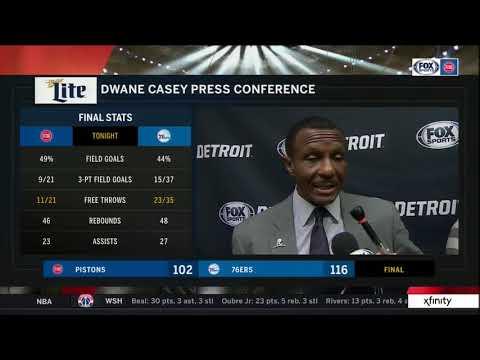 Pistons LIVE 12.10.18: Dwane Casey