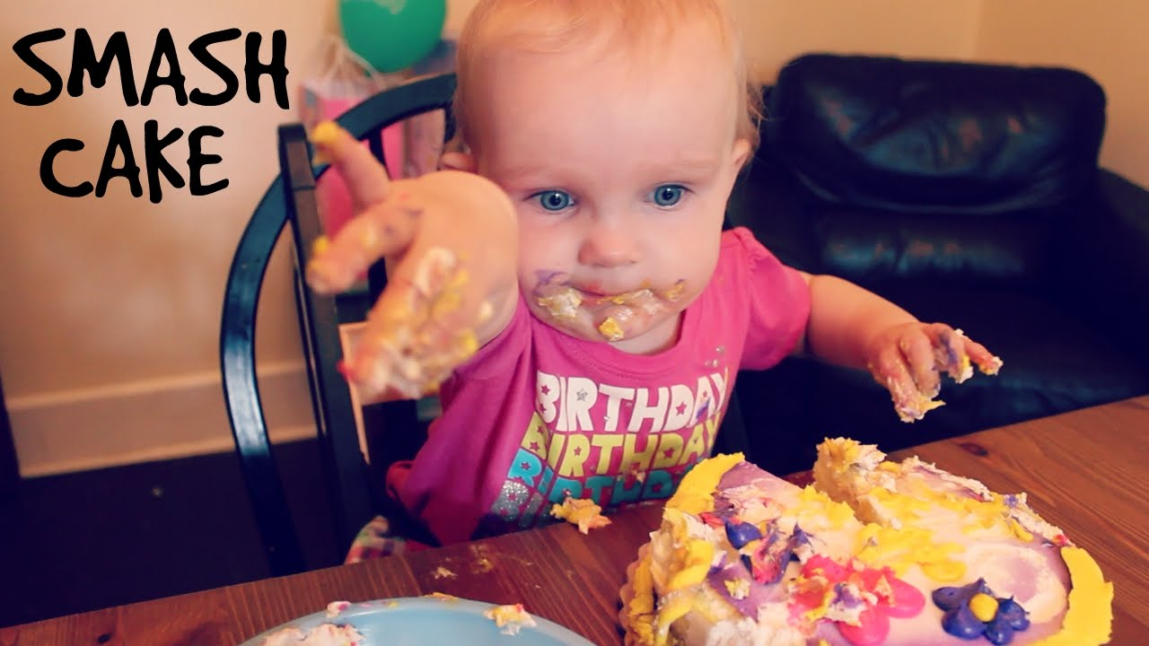 First Birthday Smash Cake Youtube