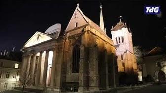 Cathédrale Saint-Pierre de Genève - Carillon au balcon