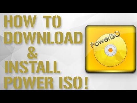 How To Download and Install Power ISO Full Version For Free