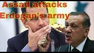 OMG!Assad attacks Erdogan's army