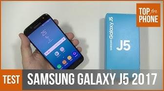 SAMSUNG GALAXY J5 2017 - test par Top-For-Phone.fr