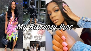 MY BIRTHDAY VLOG + MEETING INSTAGRAM FRIENDS!!