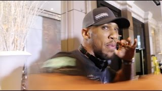 ANTHONY JOSHUA ON CHISORA & WHYTE FEUD / DEMONSTRATES EXACTLY HOW HE WILL DESTROY ERIC MOLINA!