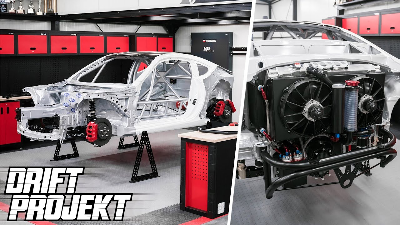 Układ Hamulcowy, Paliwowy, Chłodzenia - Drift Projekt - Subaru BRZ #22