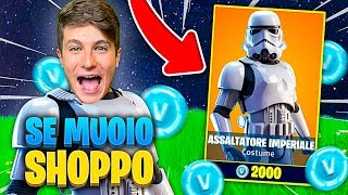 SE MUOIO SHOPPO LA SKIN DI STAR WARS CHALLENGE!! Fortnite *IMPOSSIBILE*