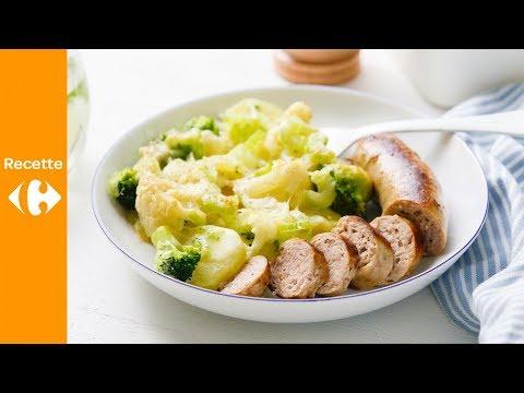 gratin-de-légumes-à-la-saucisse
